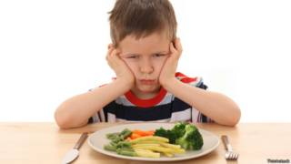 Niño sin ganas de comer