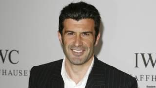 लुईस फ़ीगो, पुर्तगाल के पूर्व अन्तरराष्ट्रीय फ़ुटबॉल खिलाड़ी