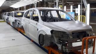Конвейер GM в Санкт-Петербурге