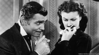 Rhett Butler và Scarlett O'Hara trong Cuốn Theo Chiều Gió