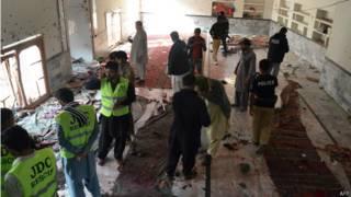 पाकिस्तान के सिंध प्रांत का इमामबाड़ा, विस्फोट में 31 मरे