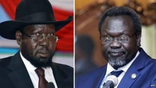 Salva Kiir ve Riek Machar