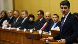 Primeiro-ministro croata, Zoran Milanovic / Crédito: Reuters