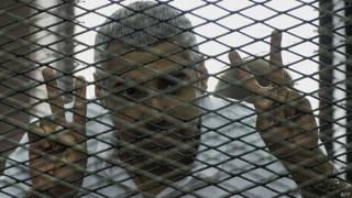 मोहम्मद फ़ाहमी, मिस्र की जेल में बंद अल जज़ीरा के पत्रकार