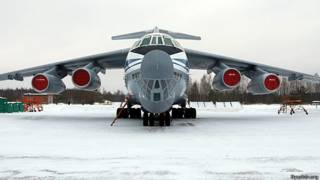 Ил-76 с бомбами - ilyushin.org