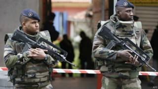 Военные во Франции