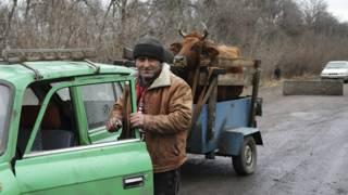 На блокпосту украинской армии
