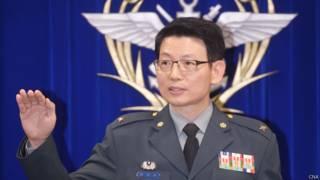 台灣國防部發言人羅紹和(03/02/2015)