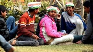दिल्ली विधानसभा चुनाव में बच्चों का इस्तेमाल