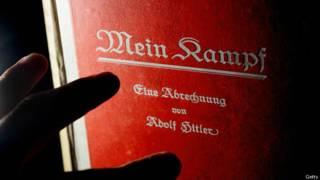 Capa de 'Mein Kampf'