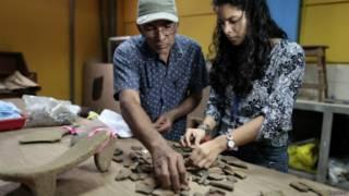 15,000原住民遺物中,14,000件主要為陶器,也包含石器和黑曜石。