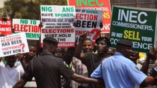 नाइजीरिया में चुनाव स्थगित