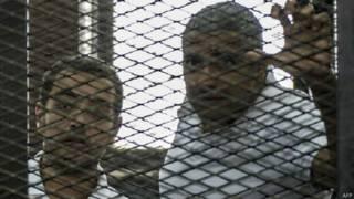 अल जज़ीरा के पत्रकार, मोहम्मद फ़ाहमी और बाहेर मोहम्मद