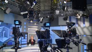 Студия телеканала ТВ2