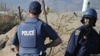 Kepolisian Afrika Selatan