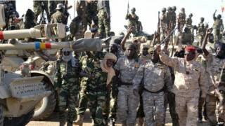 चाड और नाईजीरिया की सेना