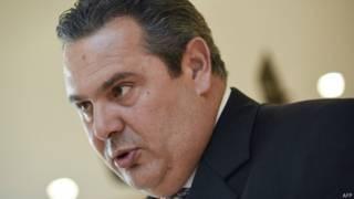 Министр обороны Греции Панос Камменос