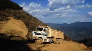 墨西哥米却肯州阿吉利亚一处矿区(资料图片)