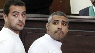 Baher Mohamed y Mohamed Fahmy