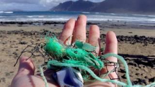 प्लास्टिक, कचरा, समंदर