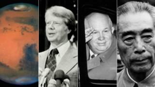 Marte, Jimmy Carter, Nikita Krushchev, Zhou Enlai