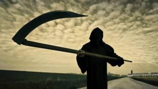 Imagen de La Muerte con su guadaña
