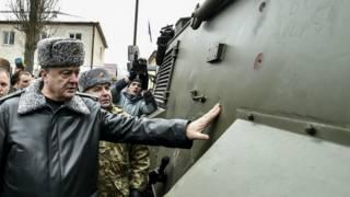 """Президент Петр Порошенко у """"Саксона"""""""