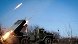 Сепаратисты ведут ракетный обстрел Дебальцева