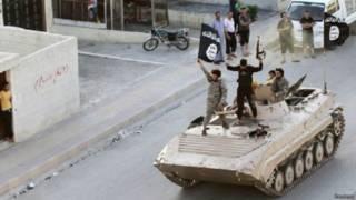 इस्लामिक स्टेट के लड़ाके