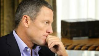 Exciclista Lance Armstrong