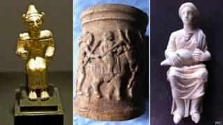 सीरिया की कलाकृतियां