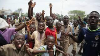 Manifestation d'élèves au Togo (archives)