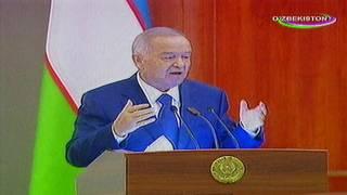 Islom Karimov 18 fevral kuni televizorda ko'rsatilgan