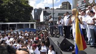 Protestas por Leopoldo López