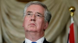 министр обороны Британии Майкл Фаллон