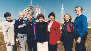 Американские летчицы, которых готовили к полету в космос