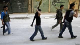 Kelompok pemberontak Suriah