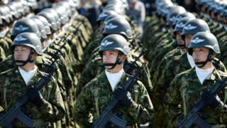日本自卫队伞兵部队
