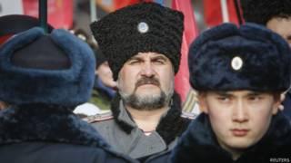 Козаки у Москві