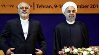 Canciller y presidente de Irán