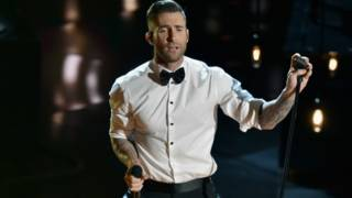 Maroon 5主唱Adam Levine颇受欢迎