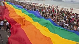 Bandeira do movimento gay