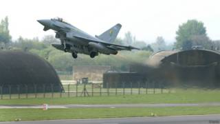 """Тайфун"" британских ВВС, миссия НАТО по патрулированию неба над Балтией"