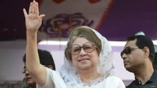 बांग्लादेश में प्रमुख विपक्ष नेता खालिदा जिया