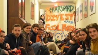 Ocupação em Harvard