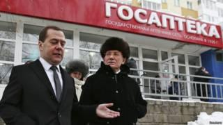 Дмитрий Медведев посетил госаптеку в Уфе