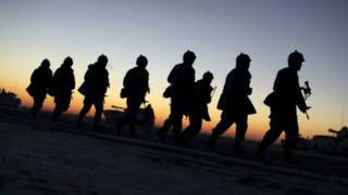 中國海軍陸戰隊首次新疆冬訓 穿越5900公里