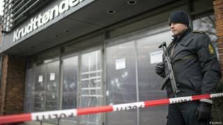 Место преступления в Копенгагене