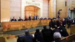मिस्र की राजधानी काहिरा में स्थित सर्वोच्च संवैधानिक न्यायालय