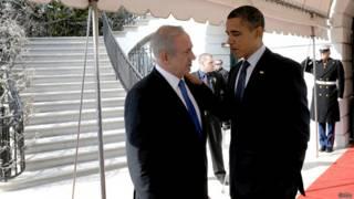 नेतन्याहू, ओबामा
